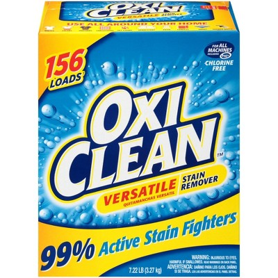 Stain Removers: Oxi Clean Versatile