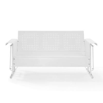 Bates Outdoor Sofa Glider - White - Crosley