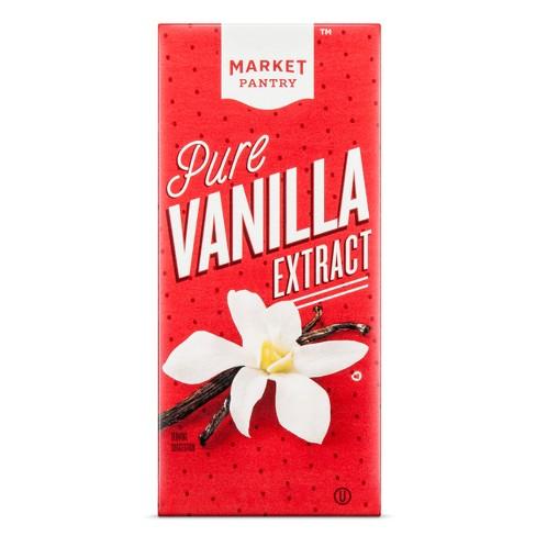 Pure Vanilla Extract - 1 fl oz - Market Pantry™ - image 1 of 1