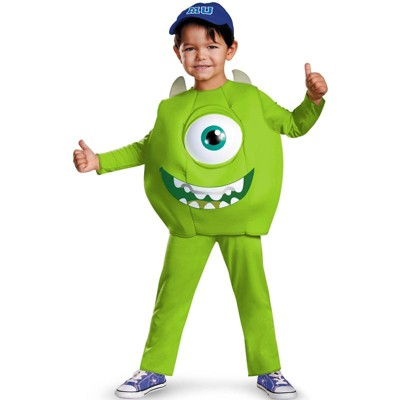 Monsters Inc Monster's University Mike Deluxe Toddler Costume