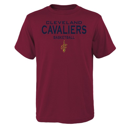 4c0f7089 NBA Cleveland Cavaliers Boys' Athleisure T-Shirt : Target