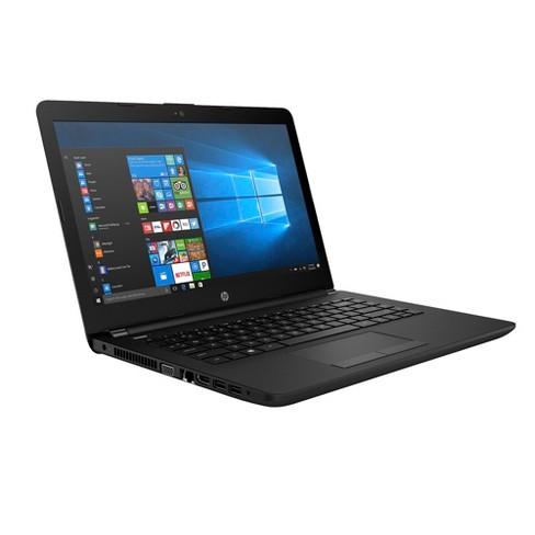 hp windows 10 14 laptop jet black 14 bw012nr target