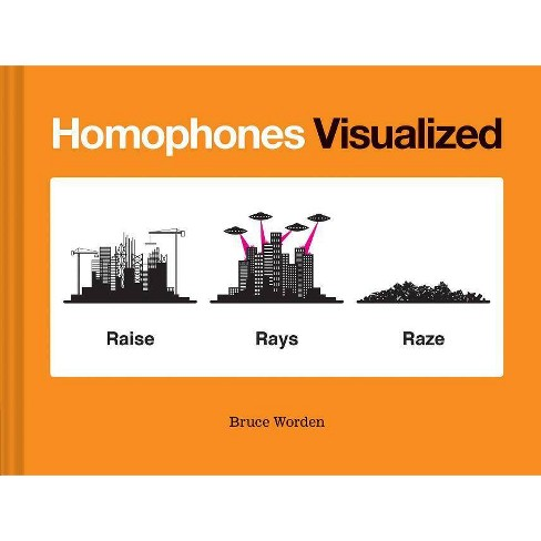 Homophones Visualized - by  Bruce Worden (Hardcover) - image 1 of 1