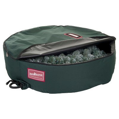 """TreeKeeper 60"""" Foam-Lined Wreath Keeper with Removable Handle"""