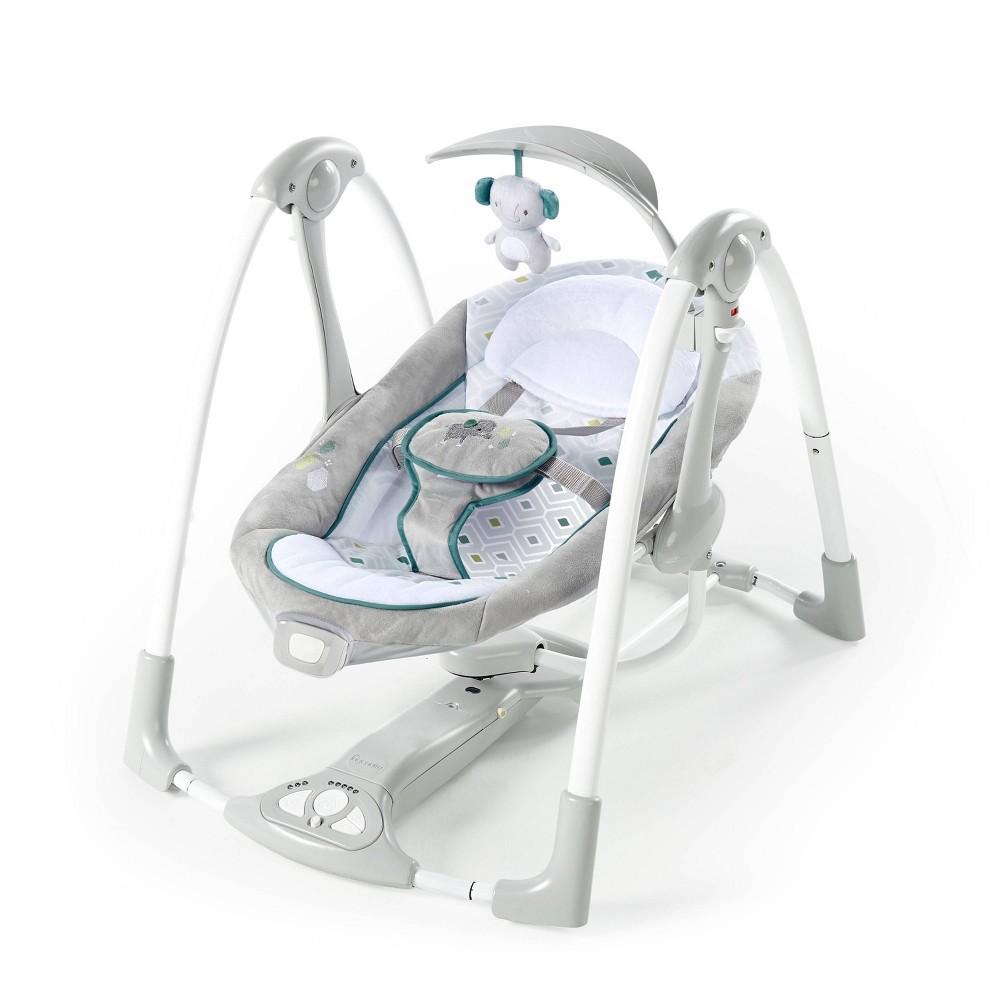 Image of Ingenuity ConvertMe Swing-2-Seat Portable Swings - Nash
