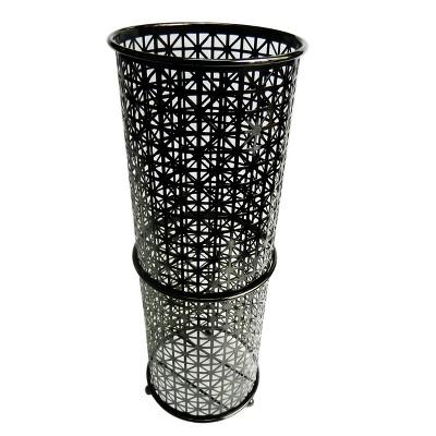 Freestanding Toilet Tissue Paper Rack Black Nickel 15.15  - Elegant Home Fashions