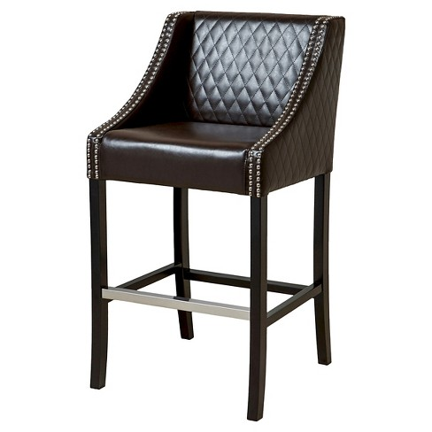 Milano Quilted 28 Barstool Christopher Knight Home