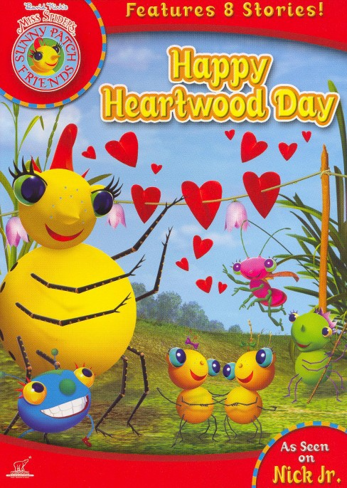 Miss Spider's Sunny Patch: Happy Heartwood Day (dvd_video) - image 1 of 1