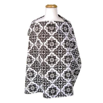 Trend Lab Versailles Black & White Nursing Cover