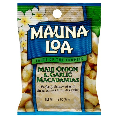 Mauna Loa Maui Onion & Garlic Macadamias - 1.15oz - image 1 of 1