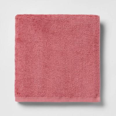 XL Everyday Bath Towel Pink - Room Essentials™