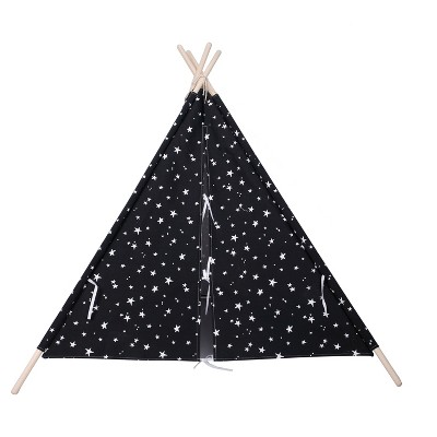 Teepee Glow in the Dark Stars Black - Pillowfort™