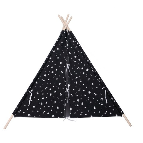 reputable site 24711 226e9 Teepee Glow in the Dark Stars Black - Pillowfort™
