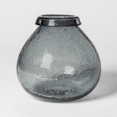 Vase Glass - Dark Gray - Threshold™