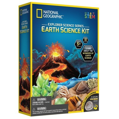 National Geographic Epic Science Series - Earth Science Kit