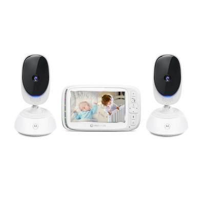 """Motorola 5"""" Video Baby Monitor w/PTZ - VM75-2"""