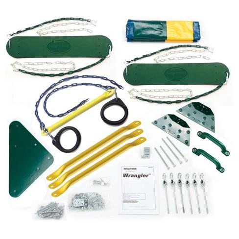 Swing N Slide Wrangler Diy Play Set Hardware Kit