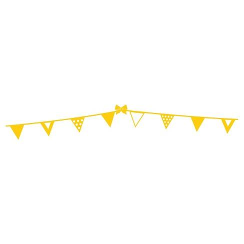 polka dots border wall decal yellow target