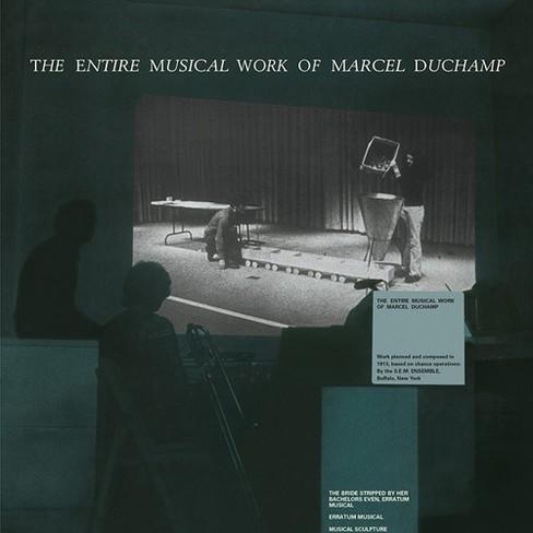 Marcel Duchamp - Entire Musical Work Of Marcel Duchamp (Vinyl) - image 1 of 1