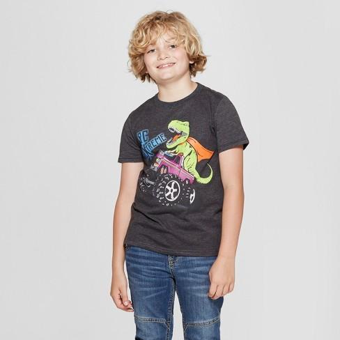 Boys Short Sleeve T-Shirt Crew Seahorses in Love