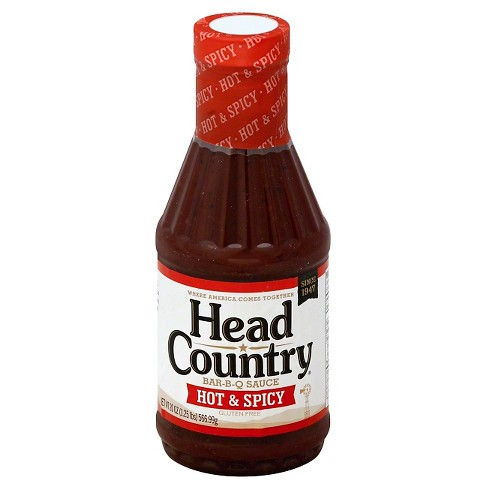 Head Country Bar-B-Q Sauce Hot & Spicy - 20oz - image 1 of 1