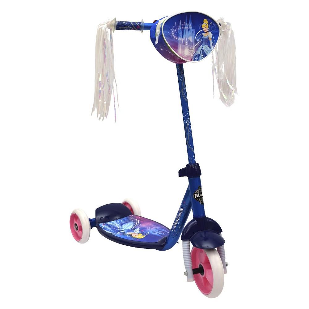 Huffy Disney Cinderella 3-Wheel Girl's Scooter - Blue