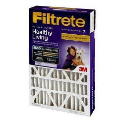 Filtrete 16x25x4 Allergen Bacteria and Virus Air Filter 1550 MPR
