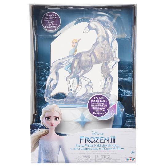 Disney Frozen 2 Elsa & Water Nokk Jewelry Box image number null