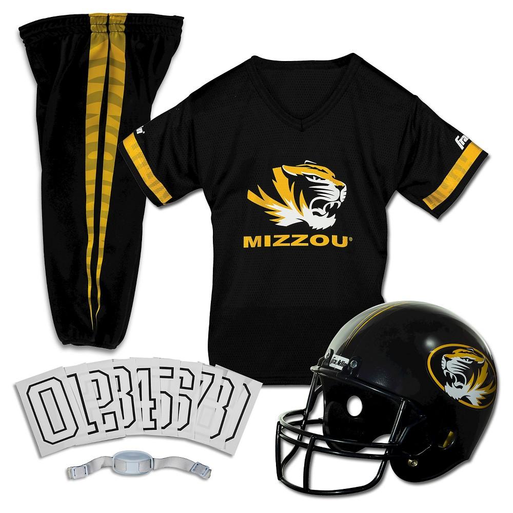 Franklin Sports Team Licensed Missouri Tigers Deluxe Football Uniform Set, Size: Small