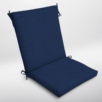 Leala Texture Clean Finish Outdoor Chair Cushion Sapphire - Arden Selections