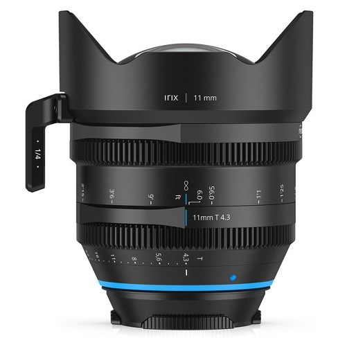 IRIX Cine 11mm T4.3 Lens with PL-Mount, Feet - image 1 of 2