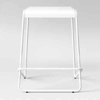 Fabulous 24 Frey Metal Counter Stool White Project 62 Target Machost Co Dining Chair Design Ideas Machostcouk