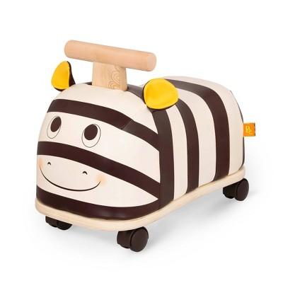 B. toys Wooden Zebra Ride-On - Zippity Zebra