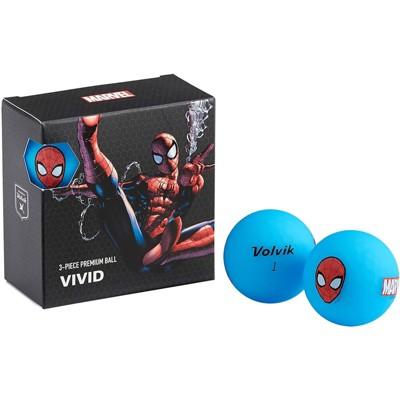 Volvik Marvel Golf Balls 4pk-Spider Man