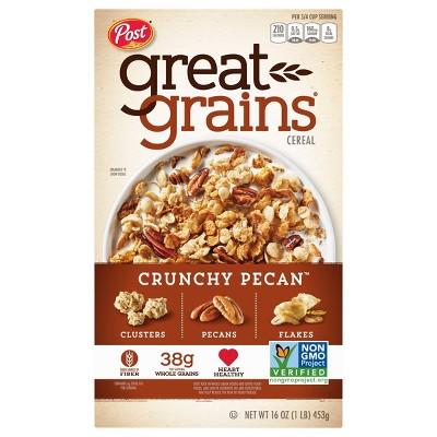Great Grains Crunchy Pecans Breakfast Cereal - 16oz - Post