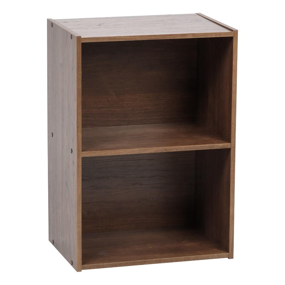 Image of IRIS 2-Tier Storage Shelf, Brown