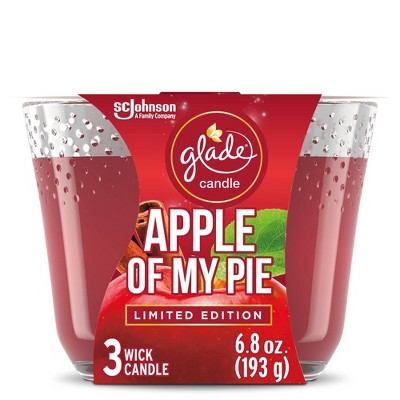 Glade Apple Of My Pie Candle - 6.8oz