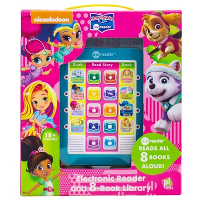 Nickelodeon PAW Patrol Skye and Friends! Electronic Me Reader 8-book Boxed Set