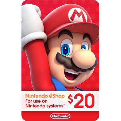 Nintendo eShop Gift Card - (Digital)