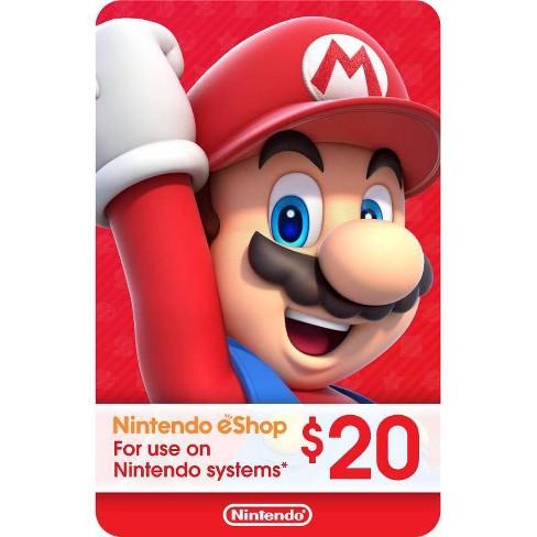 Nintendo Eshop Gift Card Digital Target