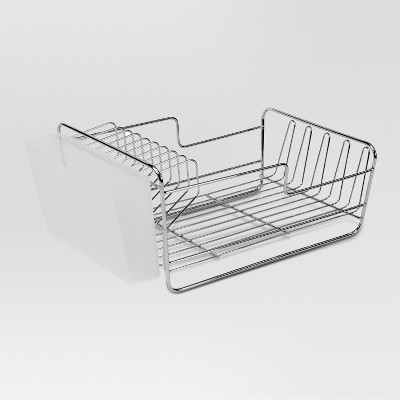 Dish Racks with Utensil Tray Matte Nickel Small - Threshold™