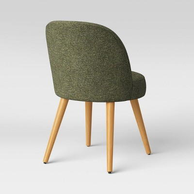 Stene Round Upholstered Dining Chair Textured Woven - Project 62™ : Target