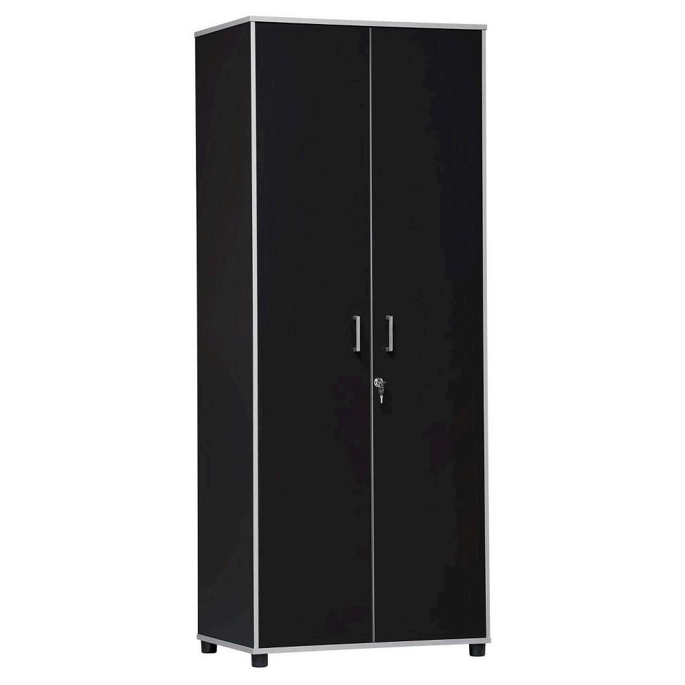 Olympic Tall Cabinet - Black - Room & Joy