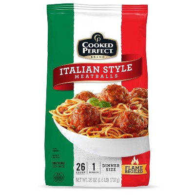 Cooked Perfect Italian Style Meatballs - Frozen - 26oz