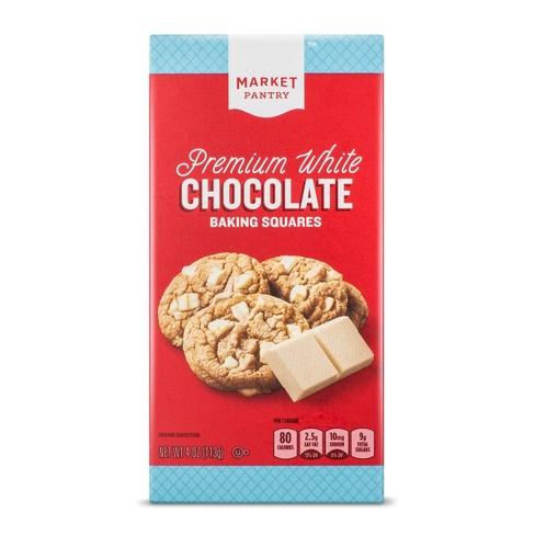 Premium White Chocolate Baking Bar - 4oz - Market Pantry™ - image 1 of 1