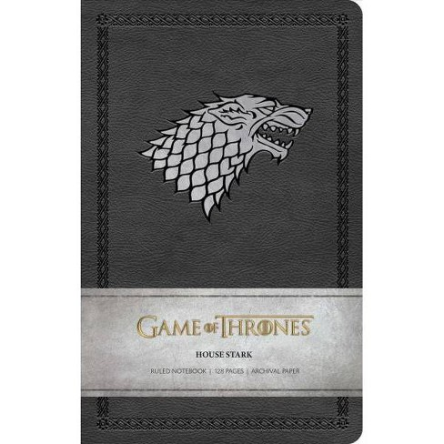 Game of Thrones: House Stark Ruled Notebook - by  Insight Editions (Paperback) - image 1 of 1