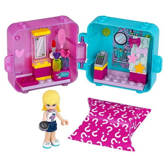 LEGO Friends Stephanie's Play Cube 41406 Building Kit image number null