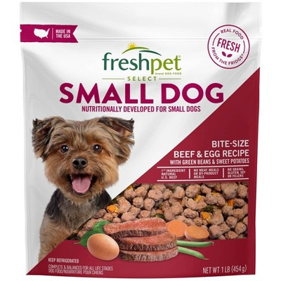 Freshpet Select Small Dog Beef Roasted Meals Wet Dog Food - 1lb