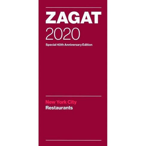 Best New Restaurants Nyc 2020 Zagat 2020 New York City Restaurants   (Paperback) : Target