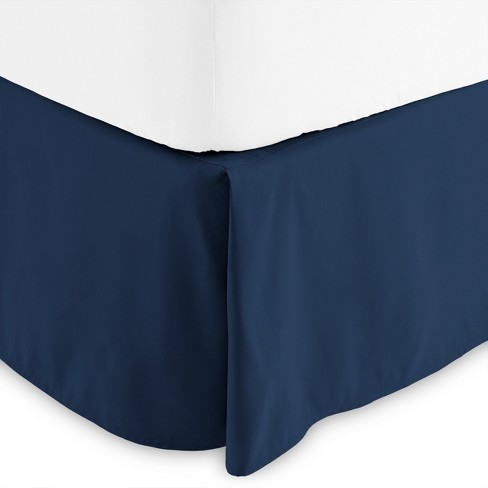 Bare Home 15 Inch Tailored Microfiber Bed Skirt - image 1 of 3
